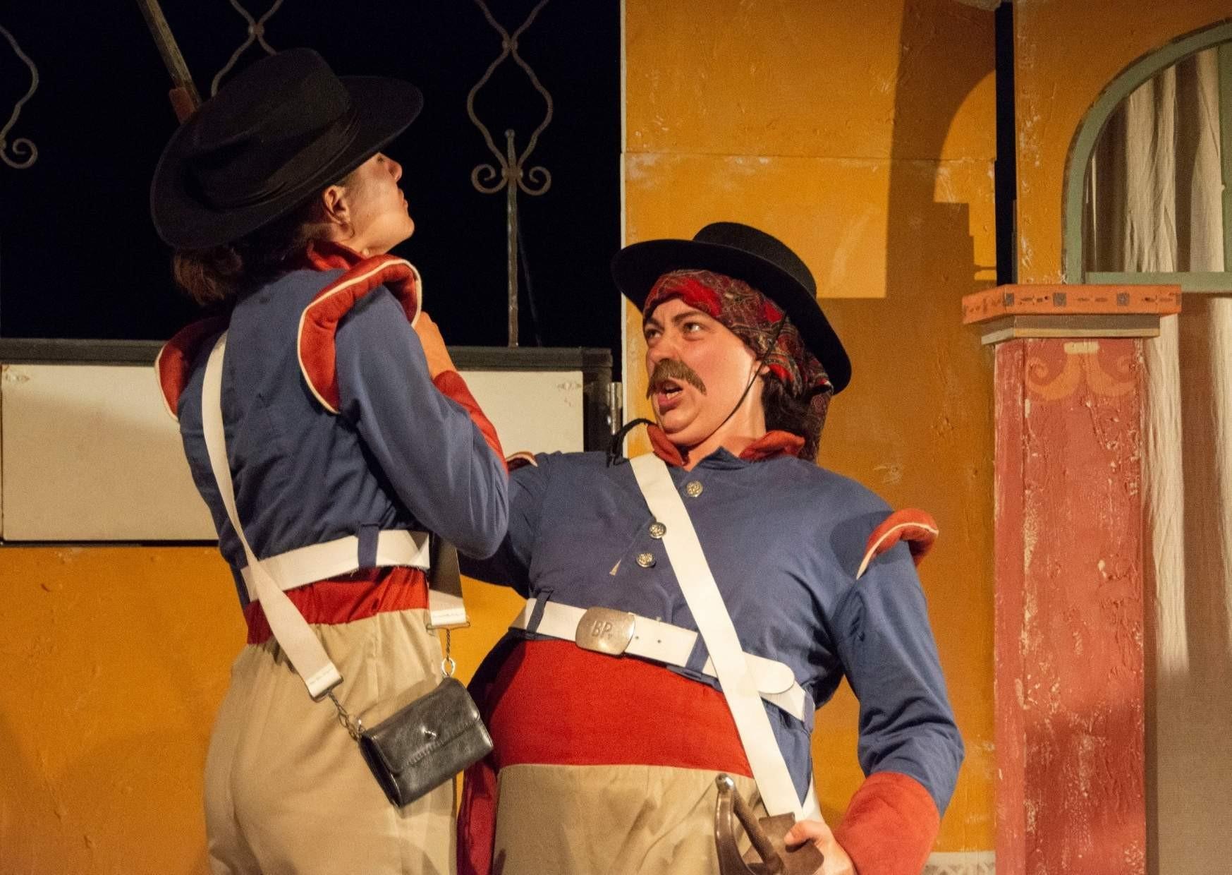 Sergent Gonzales et un soldat