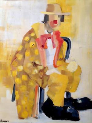 Le petit clown jaune redim